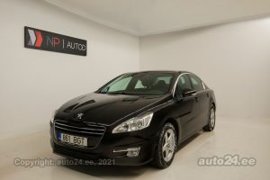 By used Peugeot 508 1.6  115 kW 2012 color dark brown for Sale in Tallinn