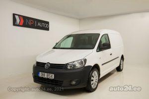 Купить б.у Volkswagen Caddy Maxi Ecofuel CNG 2.0  80 kW 2011 цвет белый года в Таллине