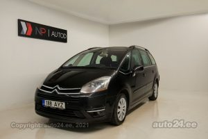 By used Citroen C4 Picasso HDiF 2.0  100 kW 2007 color black for Sale in Tallinn