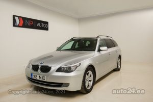 Osta kasutatud BMW 525 Touring Edition Fleet 3.0  145 kW 2009 värv hõbedane Tallinnas