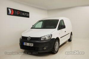 Купить б.у Volkswagen Caddy Maxi Caddy CNG Ecofuel 2.0  80 kW 2011 цвет белый года в Таллине