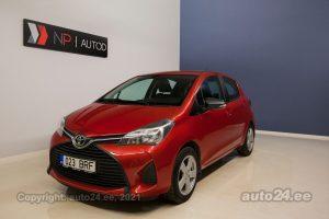 Osta kasutatud Toyota Yaris 1.3  73 kW 2016 värv punane Tallinnas