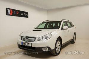 Купить б.у Subaru Outback 2.0  110 kW 2011 цвет белый года в Таллине