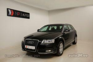Osta kasutatud Audi A6 AVANT 2.7  140 kW 2011 värv must Tallinnas