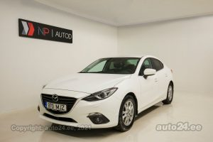 By used Mazda 3 Exclusive 2.0  88 kW 2015 color white for Sale in Tallinn