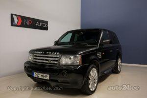 Osta kasutatud Land Rover Range Rover Sport TDV6 Luxury 2.7  140 kW 2008 värv must Tallinnas