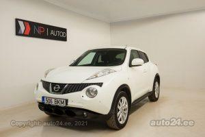 Osta kasutatud Nissan Juke Connect Edition 1.6  86 kW 2012 värv valge Tallinnas