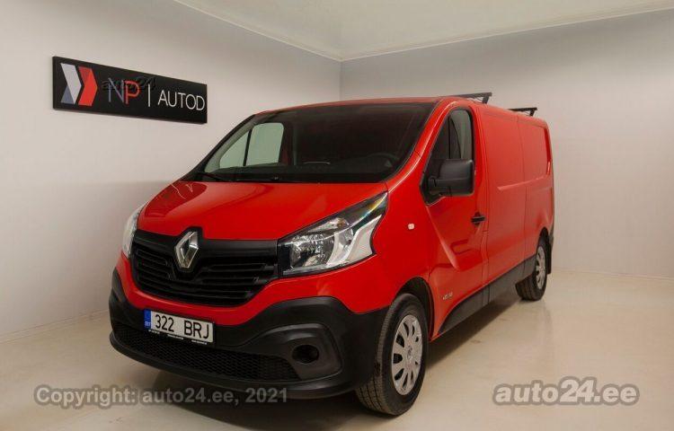 Osta kasutatud Renault Trafic Eco 1.6  85 kW  värv  Tallinnas
