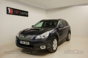 Osta kasutatud Subaru Outback 2.0  110 kW 2011 värv tumehall Tallinnas