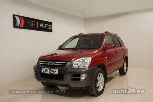 Osta kasutatud Kia Sportage 2.0  104 kW 2007 värv punane Tallinnas