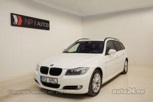 Купить б.у BMW 318 Touring Shadowline 2.0  105 kW 2010 цвет белый года в Таллине