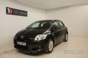 Osta kasutatud Toyota Auris 1.4  66 kW 2008 värv must Tallinnas