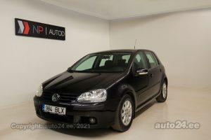Osta kasutatud Volkswagen Golf Comfortline 1.4  90 kW 2008 värv must Tallinnas
