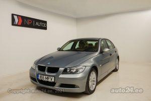 Osta kasutatud BMW 318 Pure Drive 2.0  95 kW 2006 värv hõbedane Tallinnas