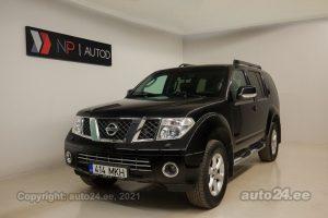 Osta kasutatud Nissan Pathfinder Status 55 2.5  126 kW 2007 värv must Tallinnas