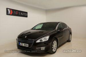 Osta kasutatud Peugeot 508 Premiera 1.6  115 kW 2012 värv tumepruun Tallinnas