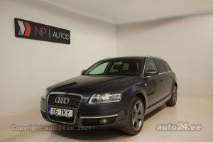Osta kasutatud Audi A6 Avant Exclusive 2.0  103 kW 2008 värv tumehall Tallinnas