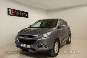 Osta kasutatud Hyundai ix35 i-Vision 1.6  99 kW 2012 värv tumehall Tallinnas