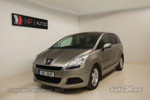 Osta kasutatud Peugeot 5008 1.6  88 kW 2012 värv beež Tallinnas