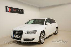 Osta kasutatud Audi A6 Avant Quattro Sport-Line 3.0  171 kW 2008 värv valge Tallinnas
