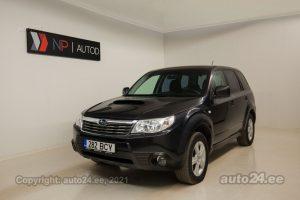 Osta käytetty Subaru Forester 2.0  108 kW 2010 väri tummanharmaa Tallinnasta