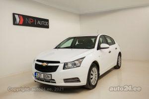 Osta kasutatud Chevrolet Cruze 1.6  91 kW 2012 värv valge Tallinnas