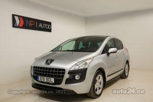 Osta kasutatud Peugeot 3008 ATM 1.6  115 kW 2011 värv hõbedane Tallinnas