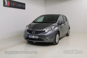 Osta kasutatud Nissan Note Eco Elegance 1.5  66 kW 2014 värv hall Tallinnas