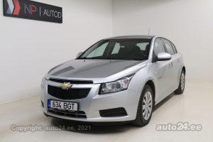 Osta kasutatud Chevrolet Cruze Sport 1.6  91 kW 2012 värv hõbedane Tallinnas