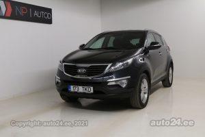 Osta kasutatud Kia Sportage AWD ATM 2.0  120 kW 2013 värv must Tallinnas