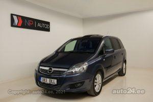 Osta kasutatud Opel Zafira Elegance 1.7  92 kW 2011 värv tumesinine Tallinnas