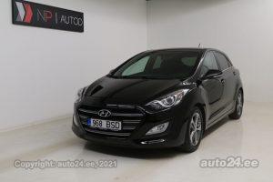Osta kasutatud Hyundai i30 Go Edition 1.6  99 kW 2016 värv must Tallinnas