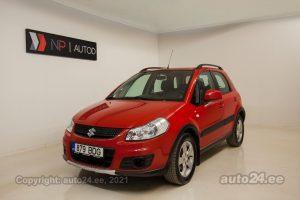 Osta kasutatud Suzuki SX4 1.6  88 kW 2011 värv punane Tallinnas