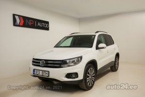 By used Volkswagen Tiguan Sportline 4motion 2.0  103 kW 2011 color white for Sale in Tallinn