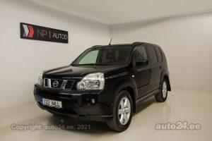 Osta kasutatud Nissan X-Trail 2.0  110 kW 2008 värv must Tallinnas