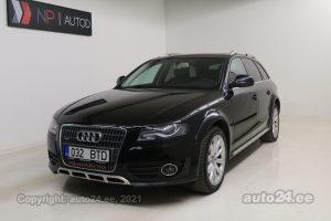 Osta kasutatud Audi A4 allroad Quattro 3.0  176 kW 2009 värv must Tallinnas