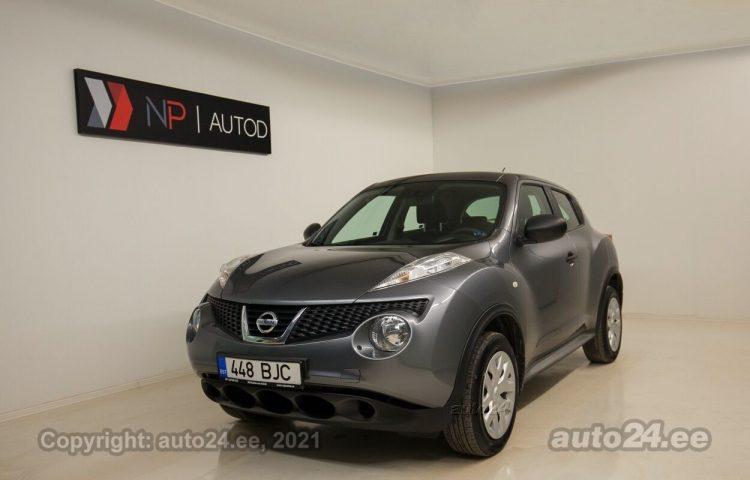 Osta kasutatud Nissan Juke Crossover 1.6  86 kW  värv  Tallinnas