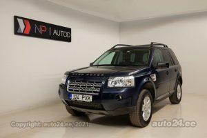 Osta kasutatud Land Rover Freelander SE TD4 2.2  112 kW 2008 värv sinine Tallinnas