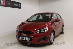 Osta kasutatud Chevrolet Aveo 1.2  63 kW 2011 värv punane Tallinnas