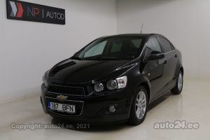 By used Chevrolet Aveo 1.6  85 kW 2011 color black for Sale in Tallinn