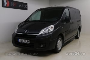 By used Toyota ProAce 2.0  94 kW 2014 color dark gray for Sale in Tallinn