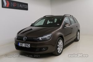 By used Volkswagen Golf 2.0  103 kW 2012 color brown for Sale in Tallinn
