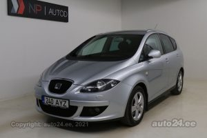 By used SEAT Altea XL Family 2.0  103 kW 2007 color light gray for Sale in Tallinn