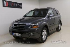 By used Kia Sorento Executive 4WD 2.5  125 kW 2007 color dark gray for Sale in Tallinn