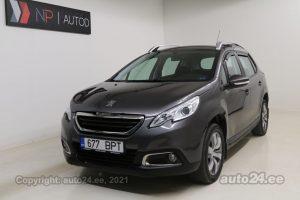 Osta kasutatud Peugeot 2008 Pure Tech 1.2  60 kW 2016 värv hall Tallinnas