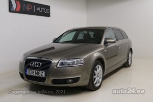By used Audi A6 Avant 2.0  125 kW 2007 color beige for Sale in Tallinn