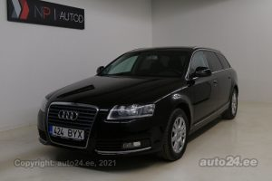 By used Audi A6 ATM 2.7  140 kW 2009 color black for Sale in Tallinn
