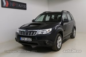 By used Subaru Forester XS 2.0  108 kW 2011 color gray for Sale in Tallinn
