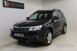 By used Subaru Forester ATM 2.0  110 kW 2010 color dark gray for Sale in Tallinn