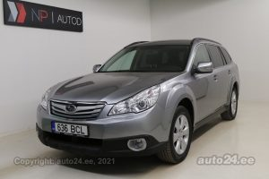 By used Subaru Outback ATM 2.5  123 kW 2010 color dark gray for Sale in Tallinn